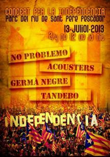 Concert per la Independència Sant Pere Pescador