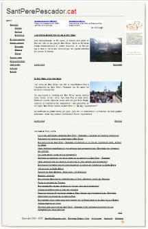 Noticiari de Sant Pere Pescador SantPerePescador.CAT
