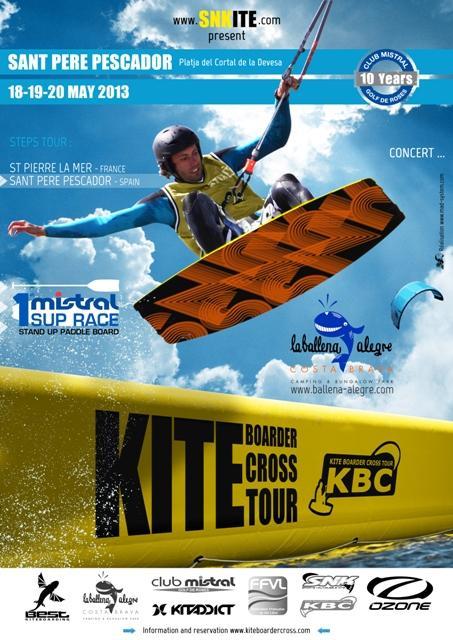 Kite Boarder Cross Tour 2013 - Sant Pere Pescador
