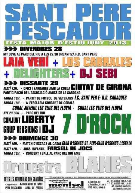 Festa Major de Sant Pere Pescador 2013