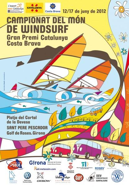 Campionat del Mn de Windsurf a Sant Pere Pescador 2012