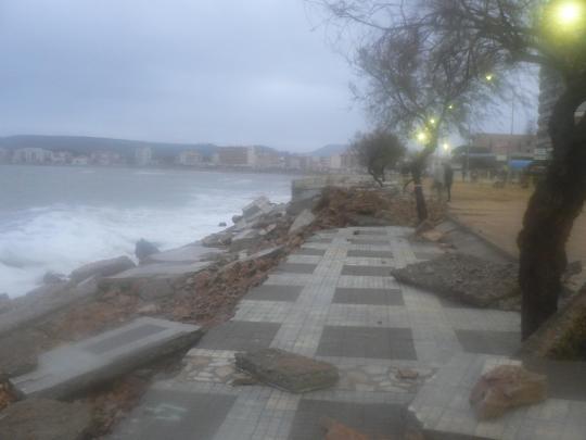 Llevantada desembre 2008 L'Escala