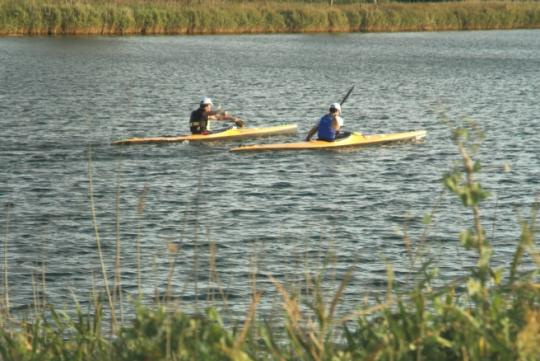Kayak al Fluvià